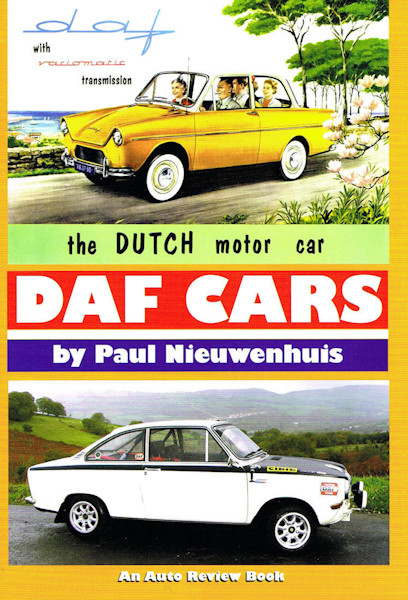 DAF Cars; The Dutch Motor Car - Front Cover