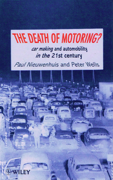The Death of Motoring - Front Cover